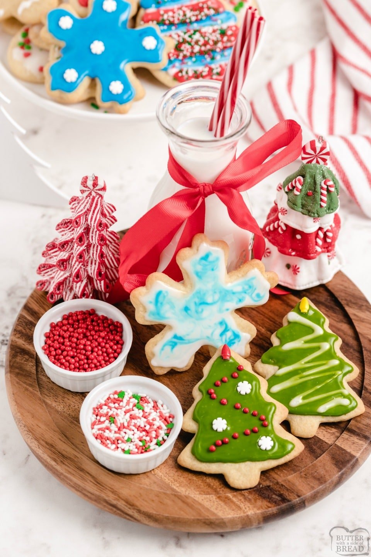 Soft Christmas Sugar cookie recipe