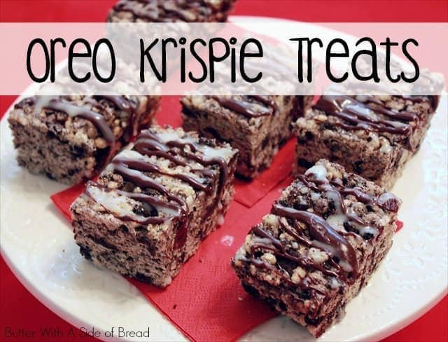 Oreo Krispie Treats are a combination of two extremely tasty desserts and the outcome is wonderful! They are so easy to make so you can always have more!