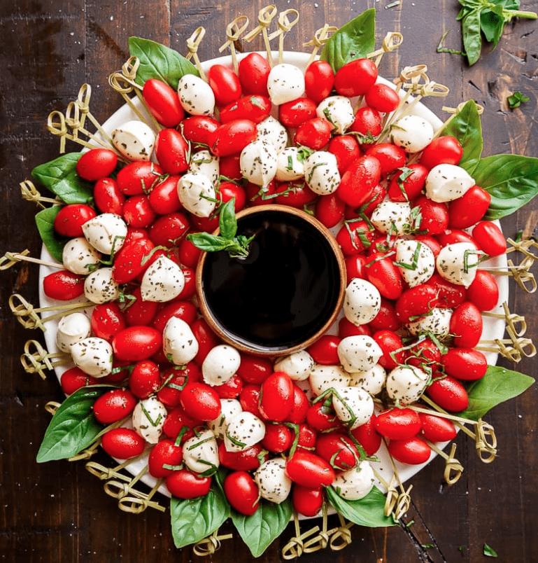 Veggie Christmas Tree Recipe: FESTIVE CHRISTMAS VEGGIE TRAYS & PLATTERS