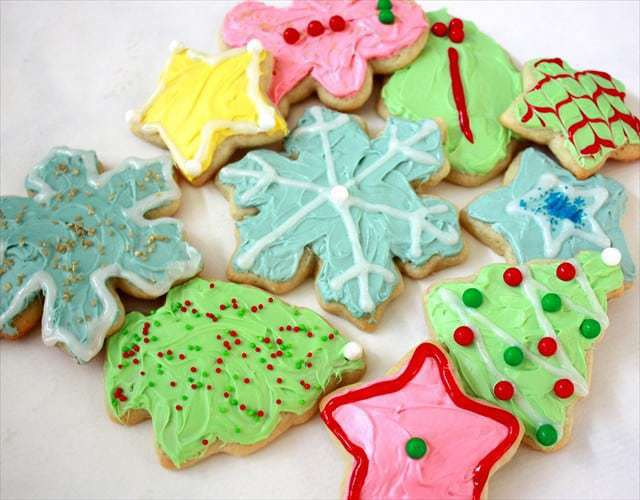 christmas sugar cookies are a holiday tradition at our house the kids love to decorate