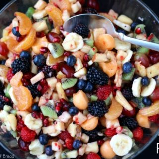 FANCY FRUIT SALAD #CreateWithCrisp