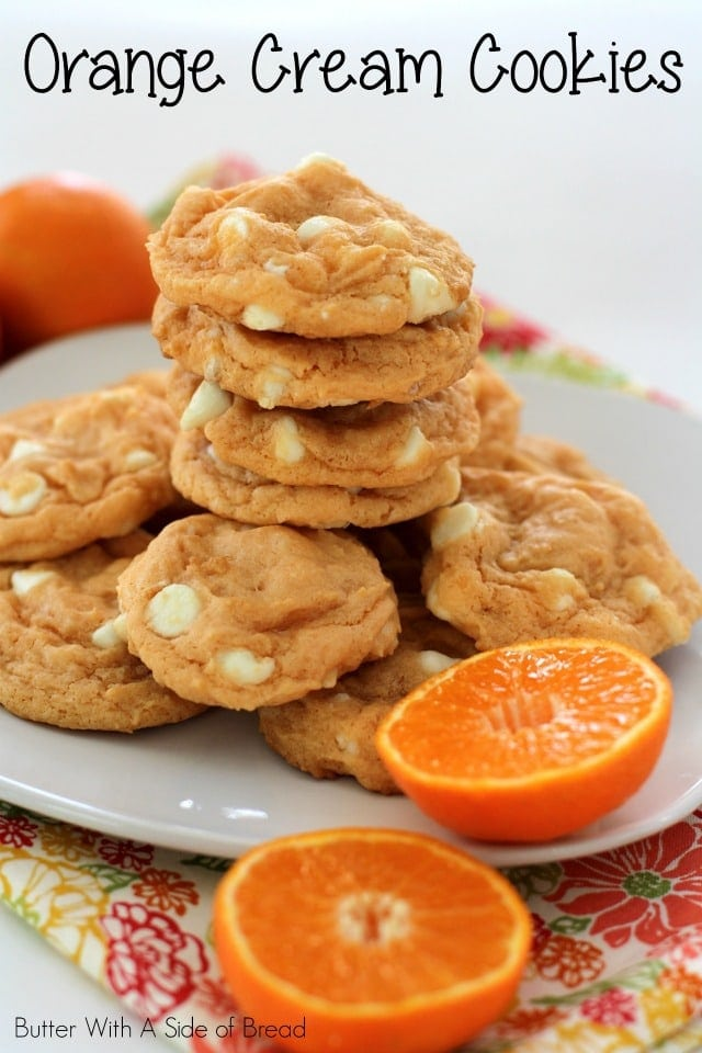 ORANGE CREAM COOKIES: Butter With A Side of Bread