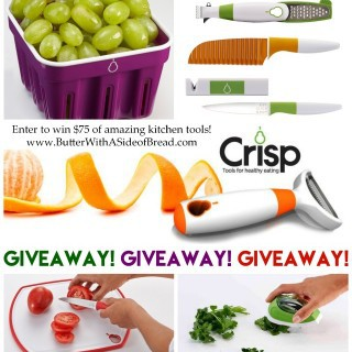 GIVEAWAY: $75 in CRISP COOKING PRODUCTS!