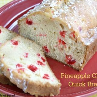 PINEAPPLE CHERRY QUICK BREAD