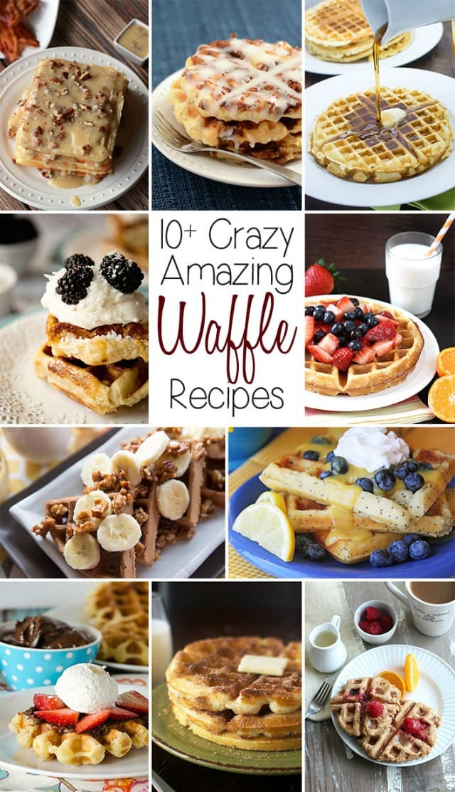 VANILLA ORANGE WAFFLES with BUTTER SYRUP {+ MORE of the BEST WAFFLE ...