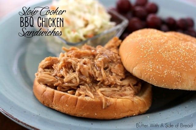 SLOW COOKER BBQ CHICKEN SANDWICHES {ZAYCON FRESH NATURAL CHICKEN ...