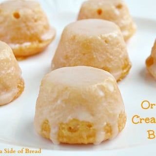 Orange Creamsicle Bites~ Butter With a Side of Bread