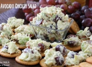 Avocado Chicken Salad ~ Butter With A Side of Bread