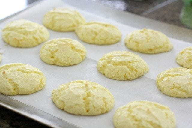 Lemon Cake Mix   Oz Cookies With Cool Whip
