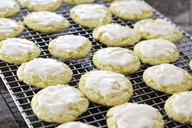 lemon glazed cool whip cookies lemon glazed cool whip cookies ...
