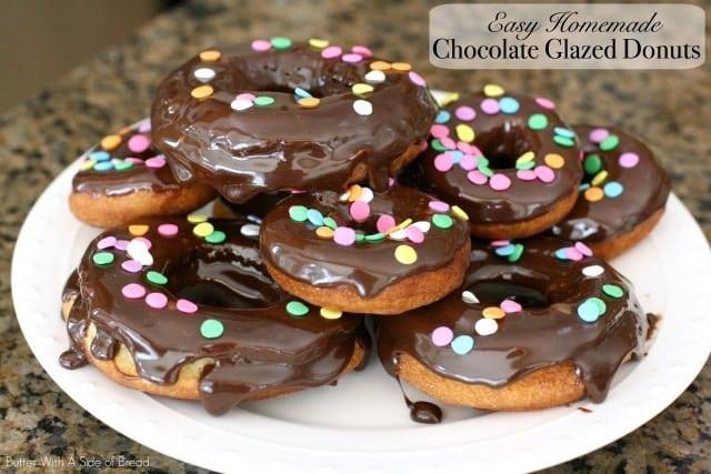 Easy Chocolate Glazed Donuts.IMG_0099