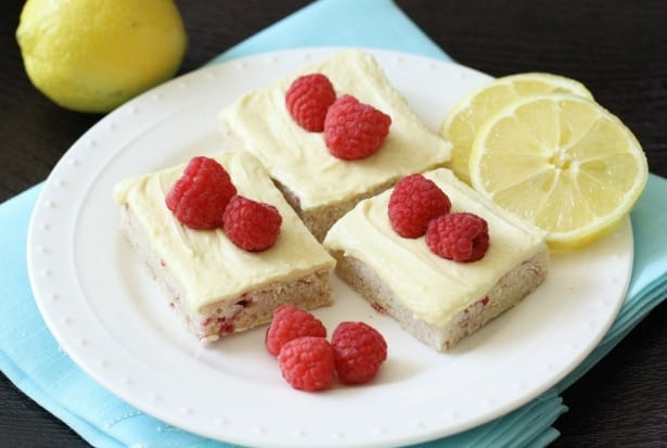 Lemon Raspberry Sugar Cookie Bars - Butter With A Side of Bread
