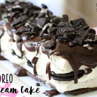 Easy 5-Minute Oreo Ice Cream Cake - Butter With A Side of Bread