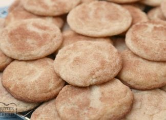 Classic Snickerdoodle cookies recipe for the best Snickerdoodles ever! Soft & chewy with great cinnamon sugar flavor and that traditional snickerdoodle texture.