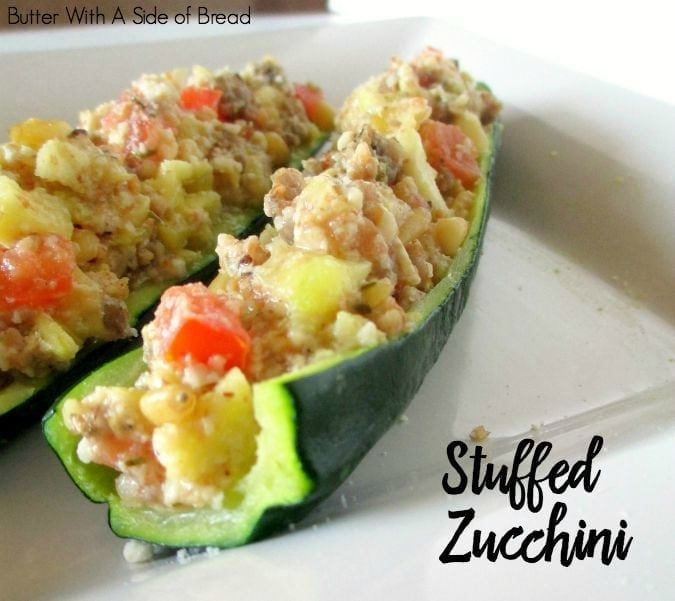 Our Easy Stuffed Zucchini is a simple, flavorful recipe that everyone enjoys. You can make the entire dish in the microwave- or put it on the gri