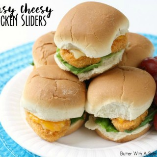 CHEESY CHICKEN SLIDERS & Tyson Project A+™ Program