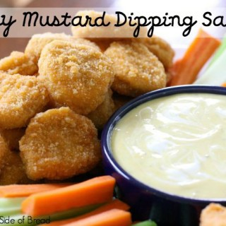 HONEY MUSTARD DIPPING SAUCE & Tyson Project A+™