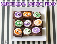 Marshmallow Monster Fudge - Butter With A Side of Bread