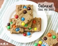 Oatmeal Trail Mix Bars - Butter With A Side of Bread