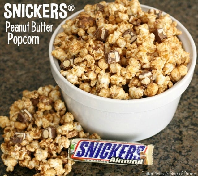 SNICKERS® PEANUT BUTTER POPCORN