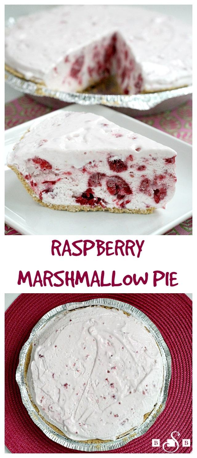 Raspberry Marshmallow Pie - Butter With a Side of Bread