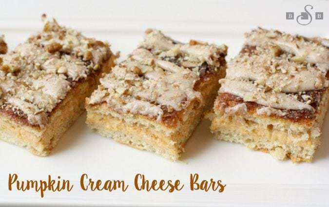 Pumpkin Cream Cheese Bars - Butter With A Side of Bread