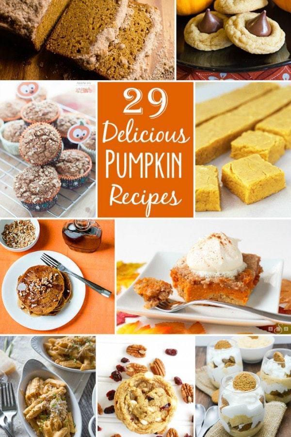 29 Delicious Pumpkin Recipes.BSB