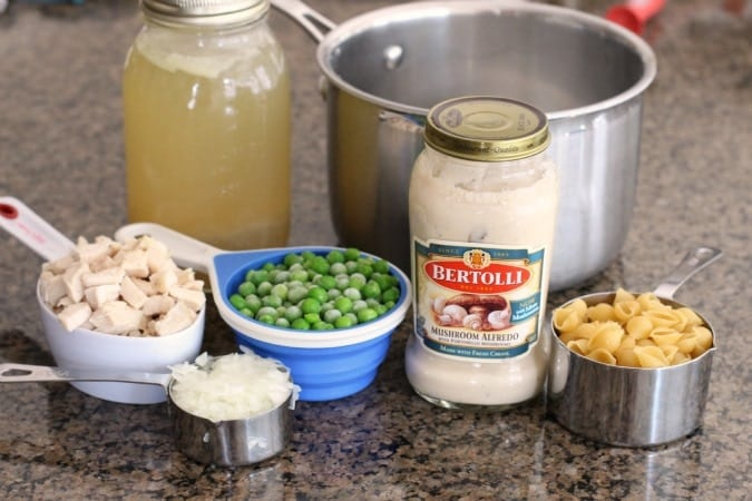Chicken Alfredo Soup - Butter With A Side of Bread