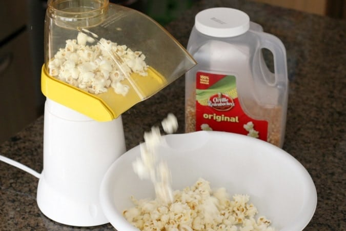 Candy Coated Halloween Popcorn - Butter With A Side of Bread