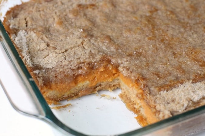Pumpkin Pudding Cake - Butter With A Side of Bread