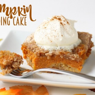 PUMPKIN PUDDING CAKE