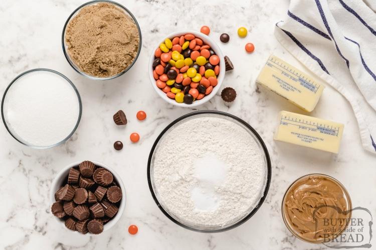 Ingredients in Reese's Peanut Butter Blondies