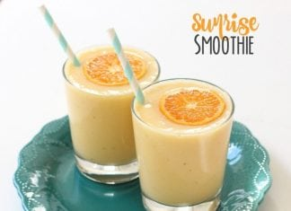 Sunrise Smoothies - Butter With A Side of Bread