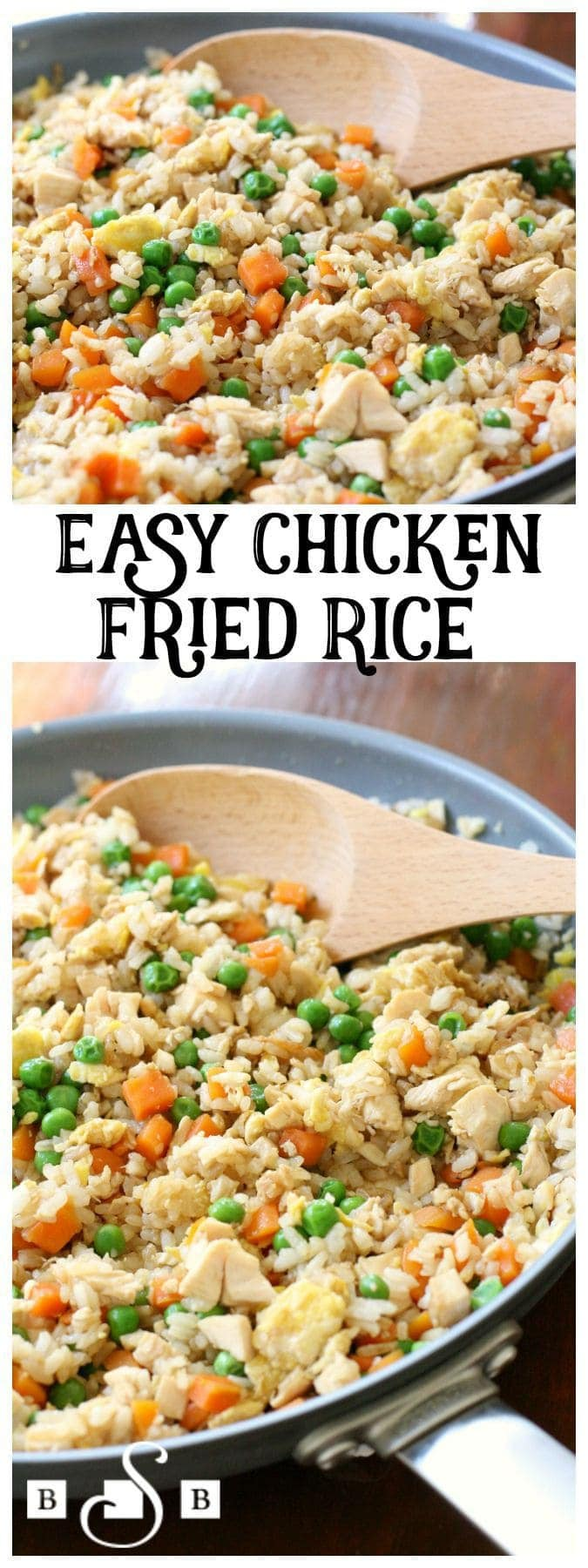 Easy Chicken Fried Rice - Butter With A Side of Bread