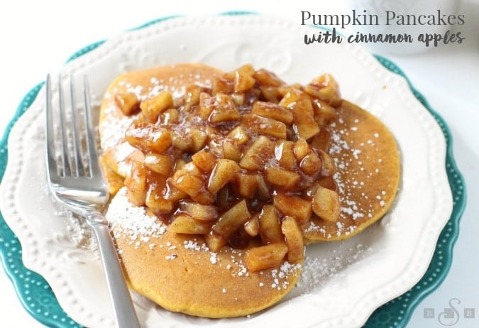 Pumpkin Pancakes - Butter With A Side of Bread #TheHolidayBox