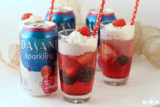 Berries & Cream Sparklers - Butter With A Side of Bread