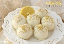 Lemon Cake Truffles - Butter With A Side of Bread