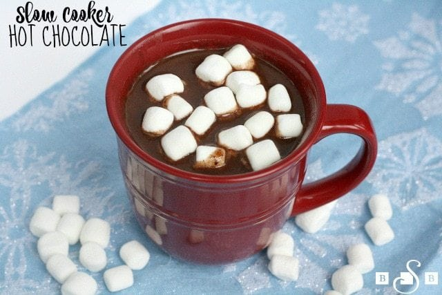 Slow Cooker Hot Chocolate - Butter With a Side of Bread
