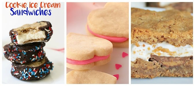 Recipes for cookie mixes