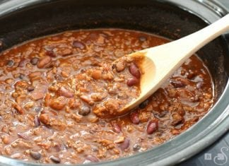 Bold Three Meat Chili - Butter With A Side of Bread