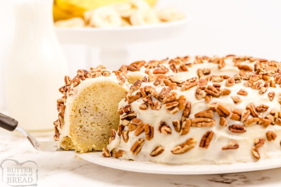 Best Buttermilk Banana Cake recipe