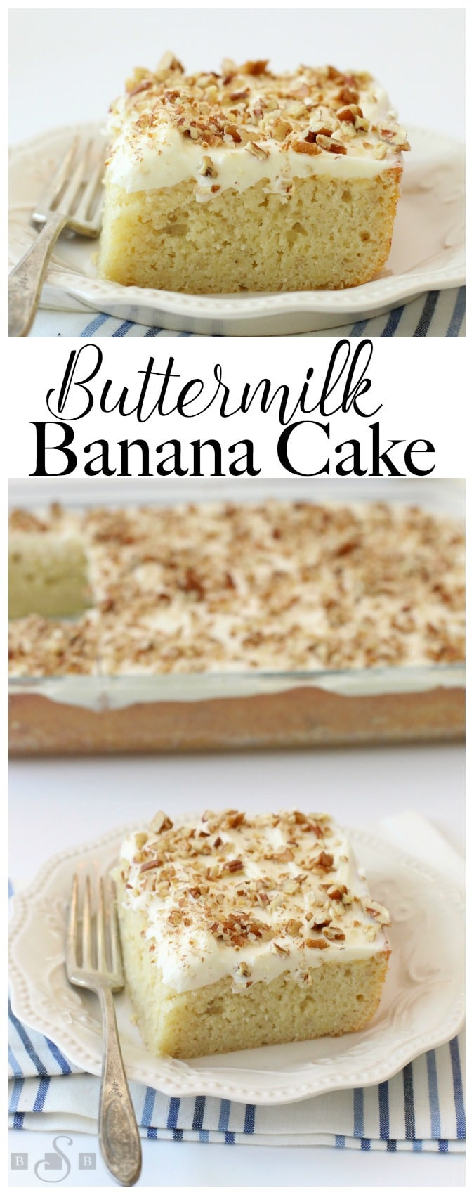Buttermilk Banana Cake - Butter With A Side of Bread