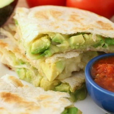 Chicken Avocado Quesadillas - Butter With A Side of Bread