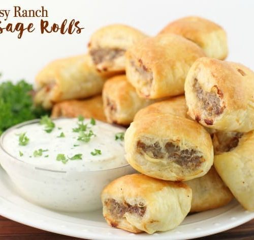 Easy ranch sausage rolls butter with a side of bread forumfinder Gallery
