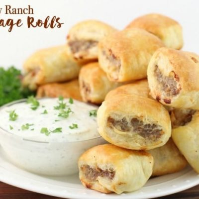EASY RANCH SAUSAGE ROLLS