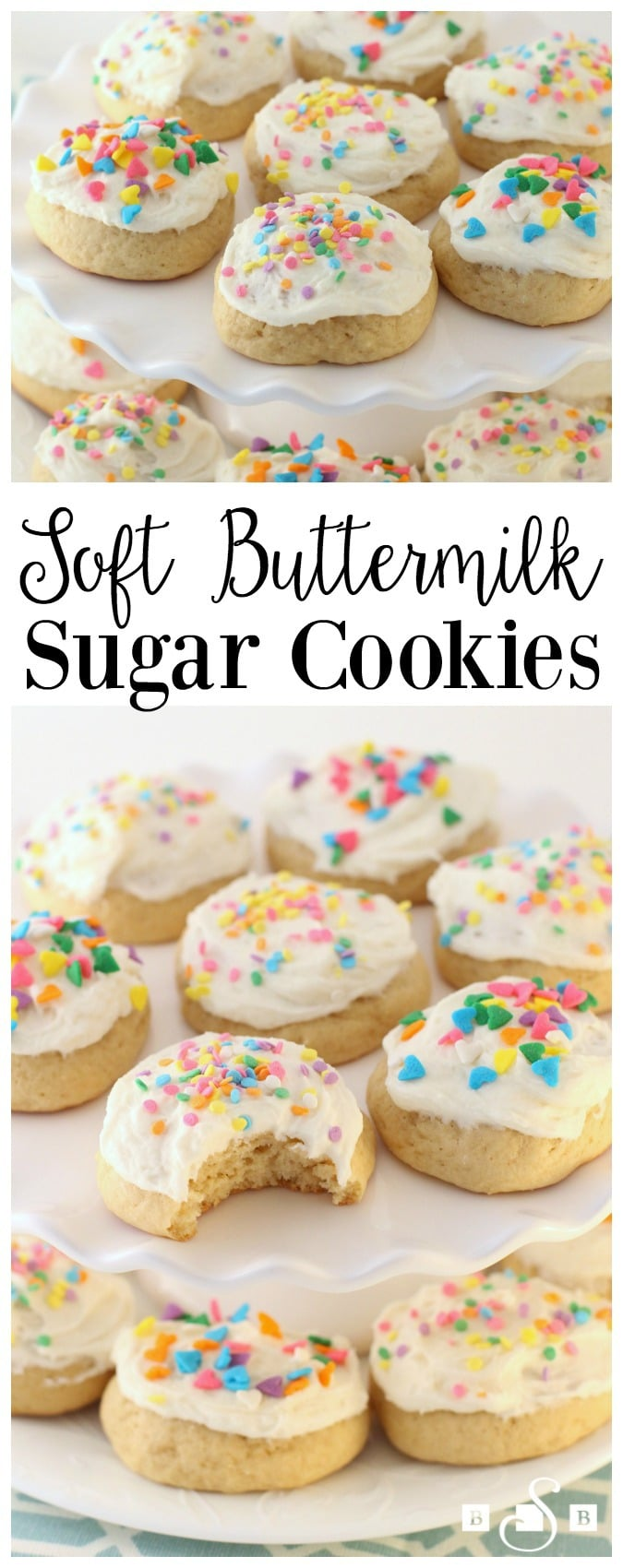 Soft Buttermilk Sugar Cookies - Butter With A Side of Bread