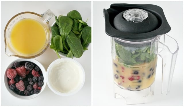 "Triple Berry ""Green"" Smoothies - Butter With a Side of Bread"