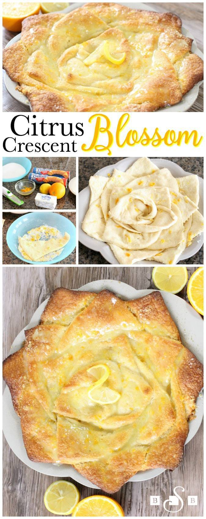 Citrus Crescent Blossom - Butter With A Side of Bread