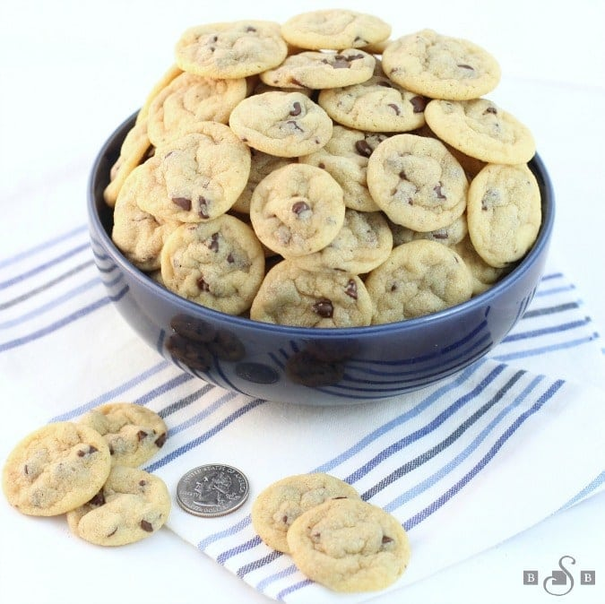 Mini Chocolate Chippers Cookies