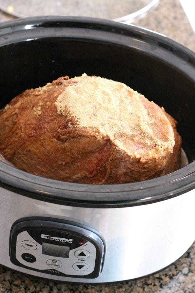 Slow Cooker Orange Glazed Ham - Butter With A Side of Bread